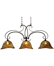 Uttermost Vetraio 3-Light Kitchen Island CeilingLight
