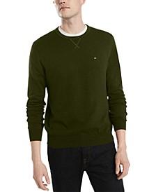 Men's Signature Solid Crew Neck Sweater