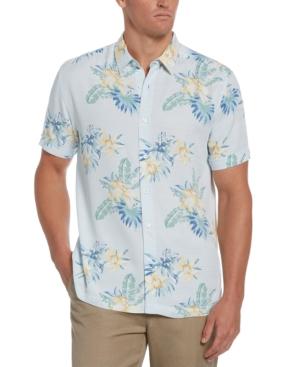 Men's Floral-Print Shirt