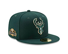 Milwaukee Bucks 2021 Champ Side Patch 59FIFTY Cap