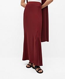 Women's Slit Long Skirt