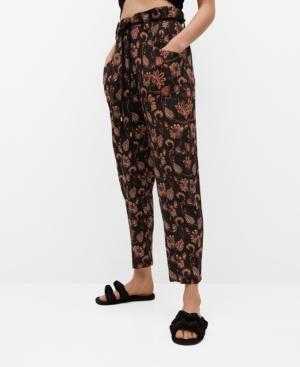 Women's Flowy Printed Pants