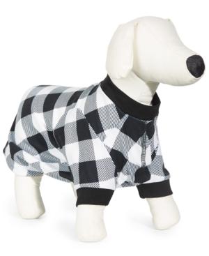 Check-Print Pet Pajamas