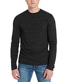 Men's Kapok Flecked Crewneck Sweater