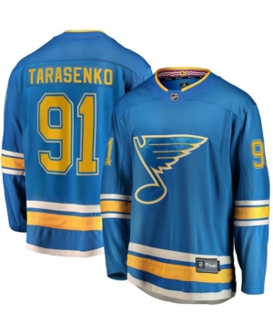Men's Vladimir Tarasenko Blue St. Louis Blues Alternate Breakaway Player Jersey