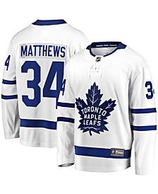 Men's Auston Matthews White Toronto Maple Leafs Away Premier Breakaway Player Jersey