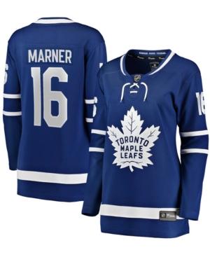Women's Mitchell Marner Blue Toronto Maple Leafs Home Premier Breakaway Player Jersey