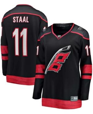 Women's Jordan Staal Black Carolina Hurricanes Breakaway Alternate Player Jersey