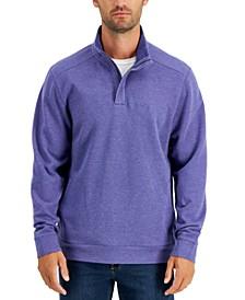 Men's Playa Tini Quarter-Zip Sweater, Created for Macy's