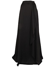 Plus Size Ball Gown Maxi Skirt