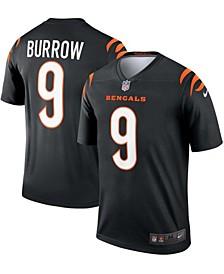 Men's Joe Burrow Black Cincinnati Bengals Legend Jersey