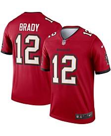 Men's Tom Brady Red Tampa Bay Buccaneers Legend Jersey