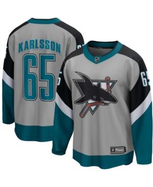 Men's Erik Karlsson Gray San Jose Sharks 2020/21 Special Edition Breakaway Player Jersey