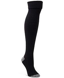 Textured Over-The-Knee Socks
