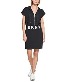 Hooded Logo T-Shirt Dress