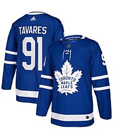 Men's John Tavares Blue Toronto Maple Leafs Home Authentic Player Jersey
