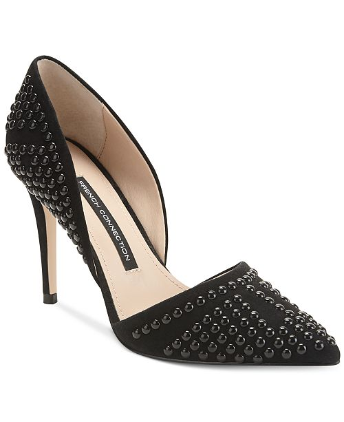French Connection Ellis D'Orsay Pointed Toe Pumps