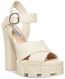 Women's Roxi Mega Lug Sole Platform Sandals