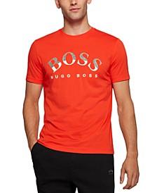 BOSS Men's Organic-Cotton Logo T-Shirt