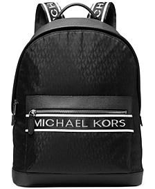 Men's MK Jacquard Logo Brooklyn Backpack
