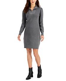 Collared Sweater Dress