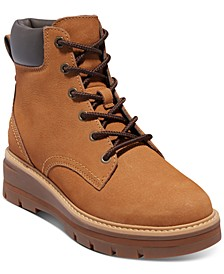Women's Cheyenne Valley Lace-Up Lug Sole Boots
