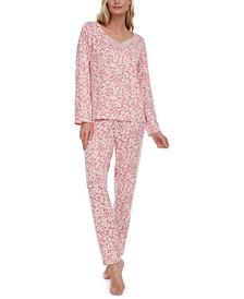 Jade Long-Sleeve Pajama Set