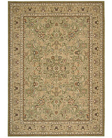 kathy ireland Home Lumiere Royal Countryside Sage Area Rug