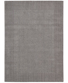 kathy ireland Home Cottage Grove Coastal Village Steel Area Rug