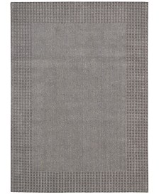 "kathy ireland Home Cottage Grove Coastal Village Steel 5'3"" x 7'5"" Area Rug"