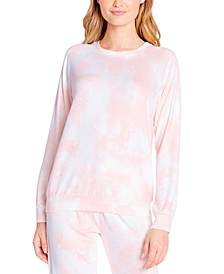 Printed Long Sleeve Pajama Top
