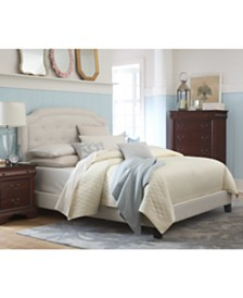 Malinda Upholstered Beds Furniture Collection