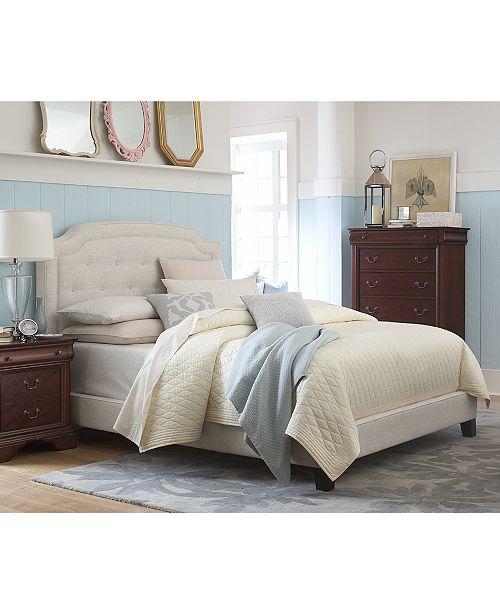 Furniture Malinda Upholstered Beds Furniture Collection