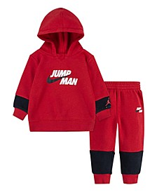 Little Boys Jumpman by Nike Hoodie and Pants, 2 Piece Set