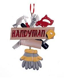 Resin Handyman Ornament