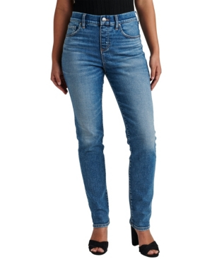 Jeans Women's Valentina High Rise Straight Leg Pull-On Jeans
