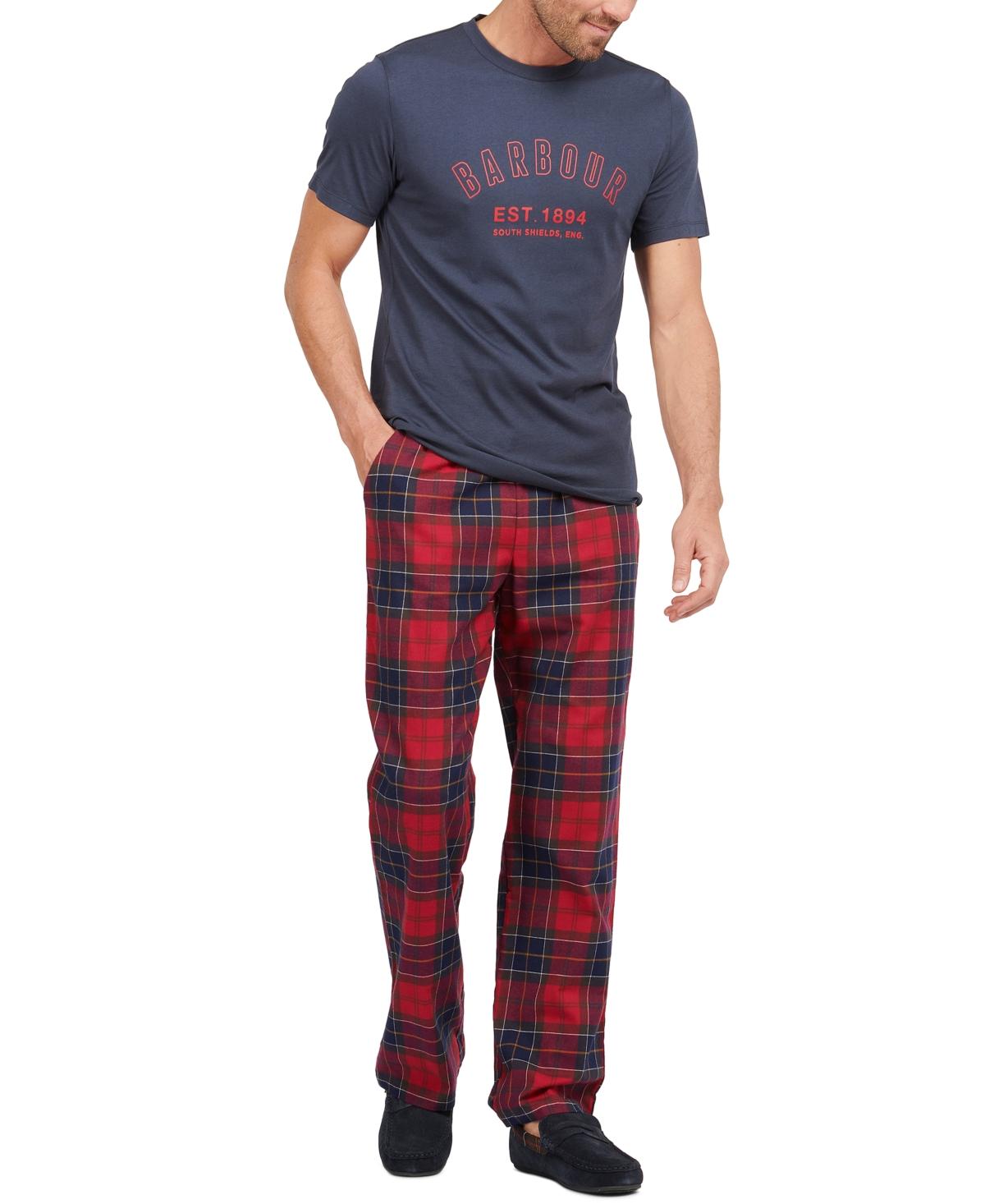 Barbour Men's Glenn Tartan Trousers