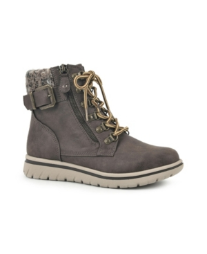 Women's Hearty Lace-Up Hiker Booties Women's Shoes
