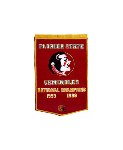 Winning Streak Florida State Seminoles Dynasty Banner