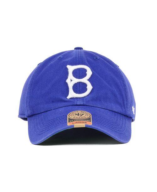 47 Brand Brooklyn Dodgers Franchise Cap - Sports Fan Shop By Lids ... 1d18bf48960