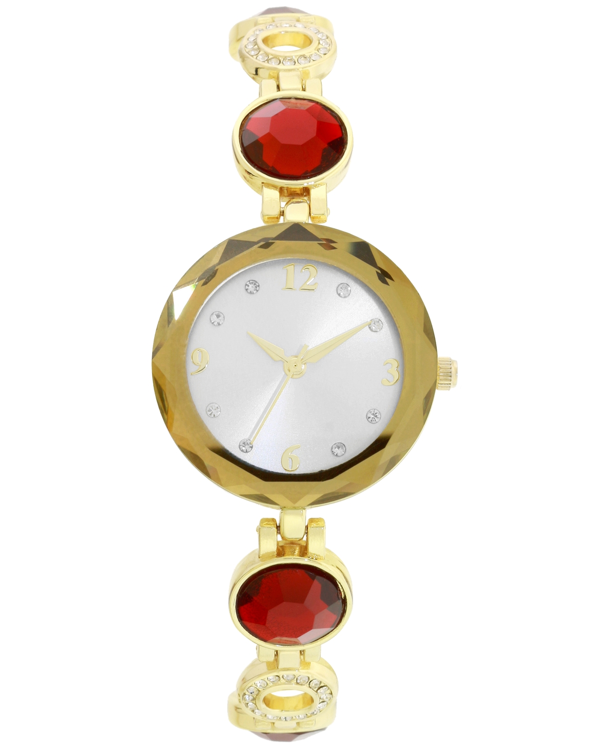 Charter Club Women's Gold-Tone Crystal Bracelet Watch 31mm, Created for Macy's