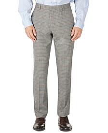 Men's Modern-Fit TH Flex Stretch Check performance Pants