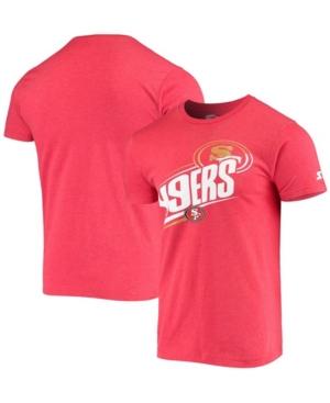 Men's Heathered Scarlet San Francisco 49ers Prime Time T-shirt