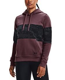 Women's Rival Fleece Colorblocked Hoodie