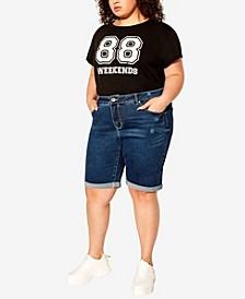 Plus Size Talia Bermuda Shorts