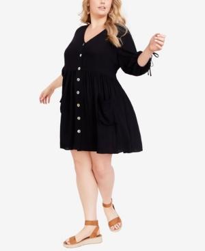 Plus Size Trinity Pocket Dress