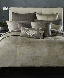 Donna Karan Home Silver California King Bedskirt