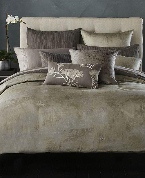 Donna Karan Home Silver Queen Bedskirt