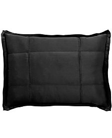 CLOSEOUT! Donna Karan Home Ebony Quilted Standard Sham
