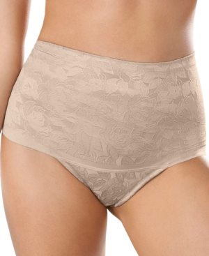 Women's Floral Cheeky Smoothing Shaper Panty 012993